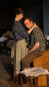 Lucy Carapetyan (Helena Charles), Joseph Wiens (Jimmy Porter) Photo by Jan Ellen Graves