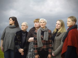 Morgan Manasa, Barbara Button, Hayley Rice, Lorraine Freund, Sara Pavlak McGuire, and Alexandra Bennett/Photo: Jeremiah Barr