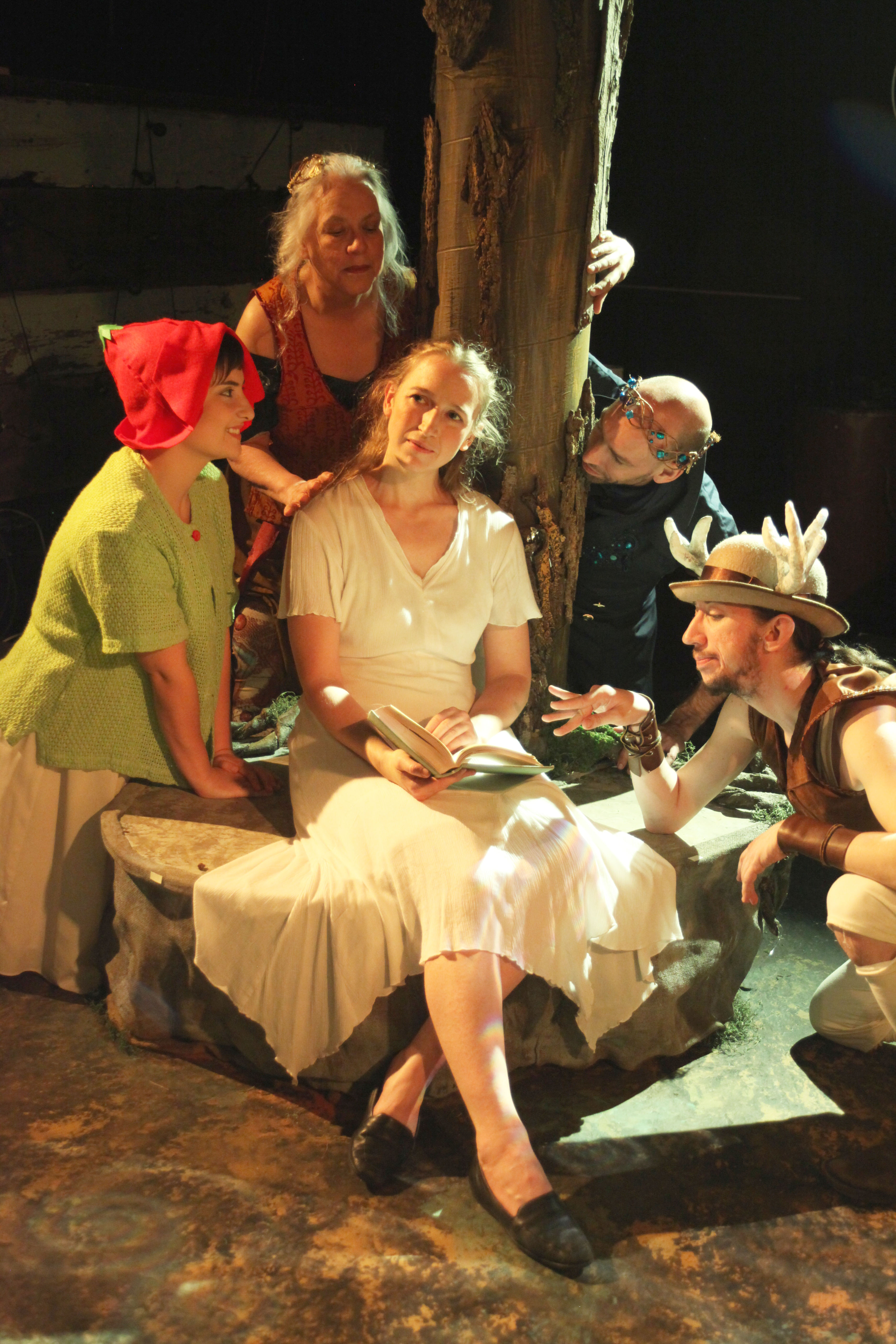 """Review: """"The Land of Never-Lack"""" (Cave Painting Theater Company)"""