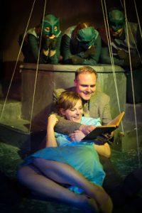 BoHo Theatre - Eurydice - Amanda Jane Long (Eurydice), Peter Robel (Father) [Amy Boyle Photography]