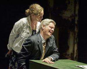 Caroline Neff and Peter Moore/Photo: Lee Miller.