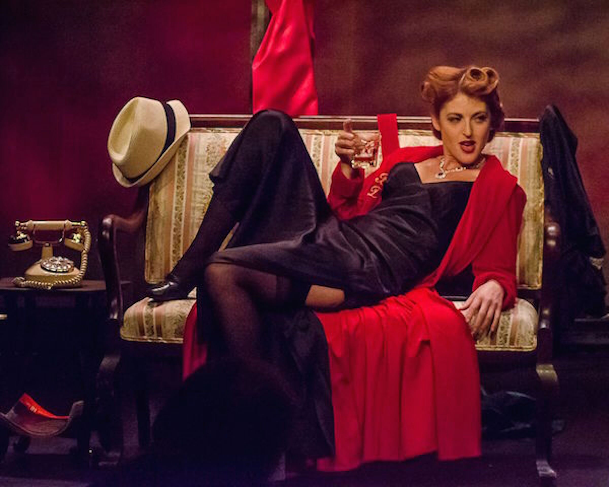 "Review: ""Bette Davis Ain't for Sissies"" (Velvet Fox Productions)"