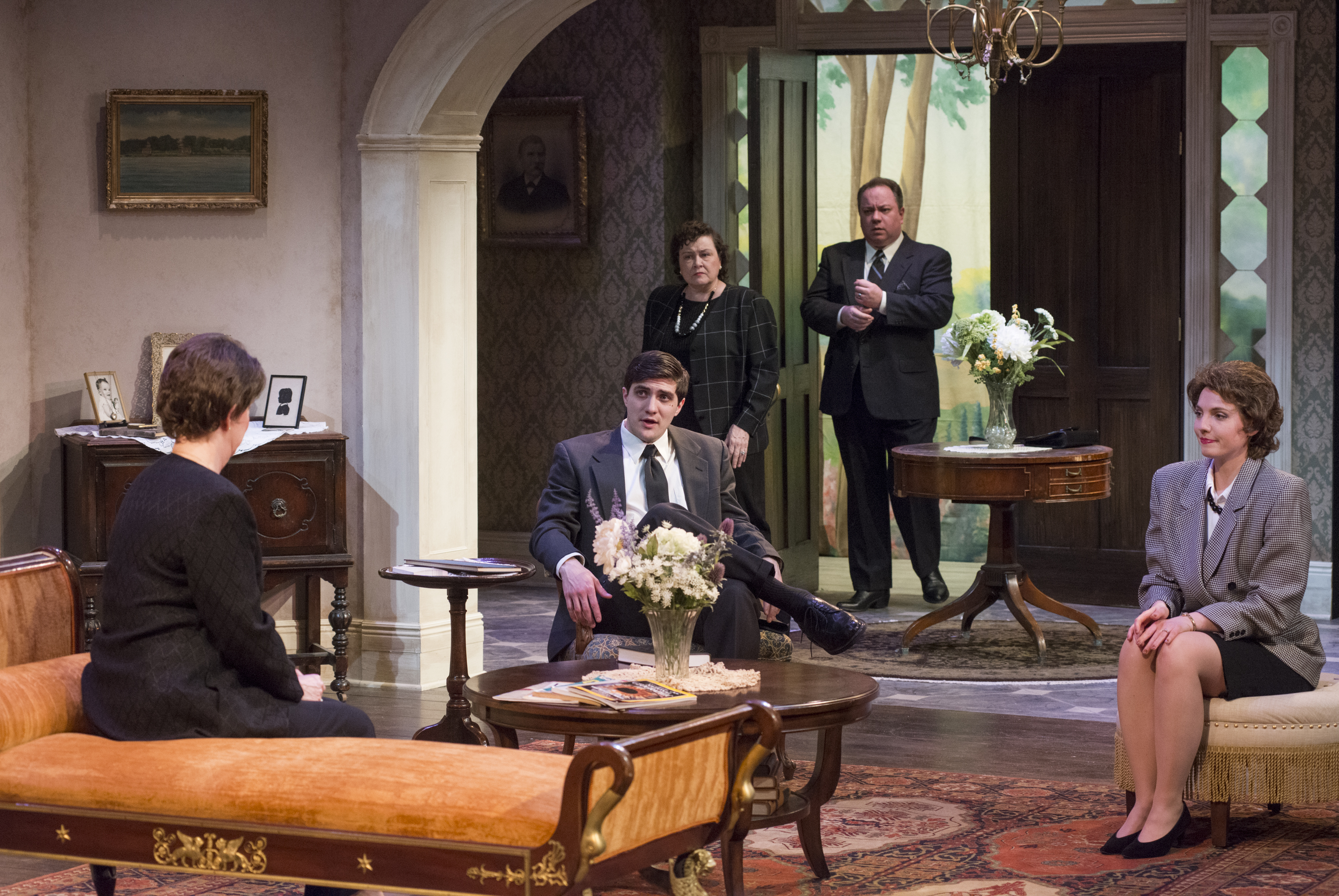 """Review: """"Dividing the Estate"""" (Raven Theatre)"""