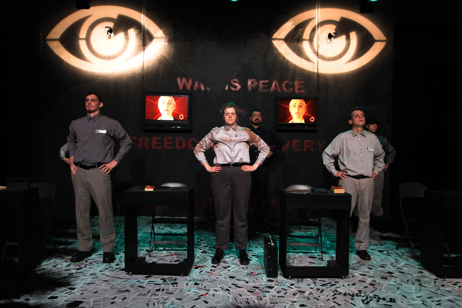 "Review: ""1984"" (AstonRep Theatre)"