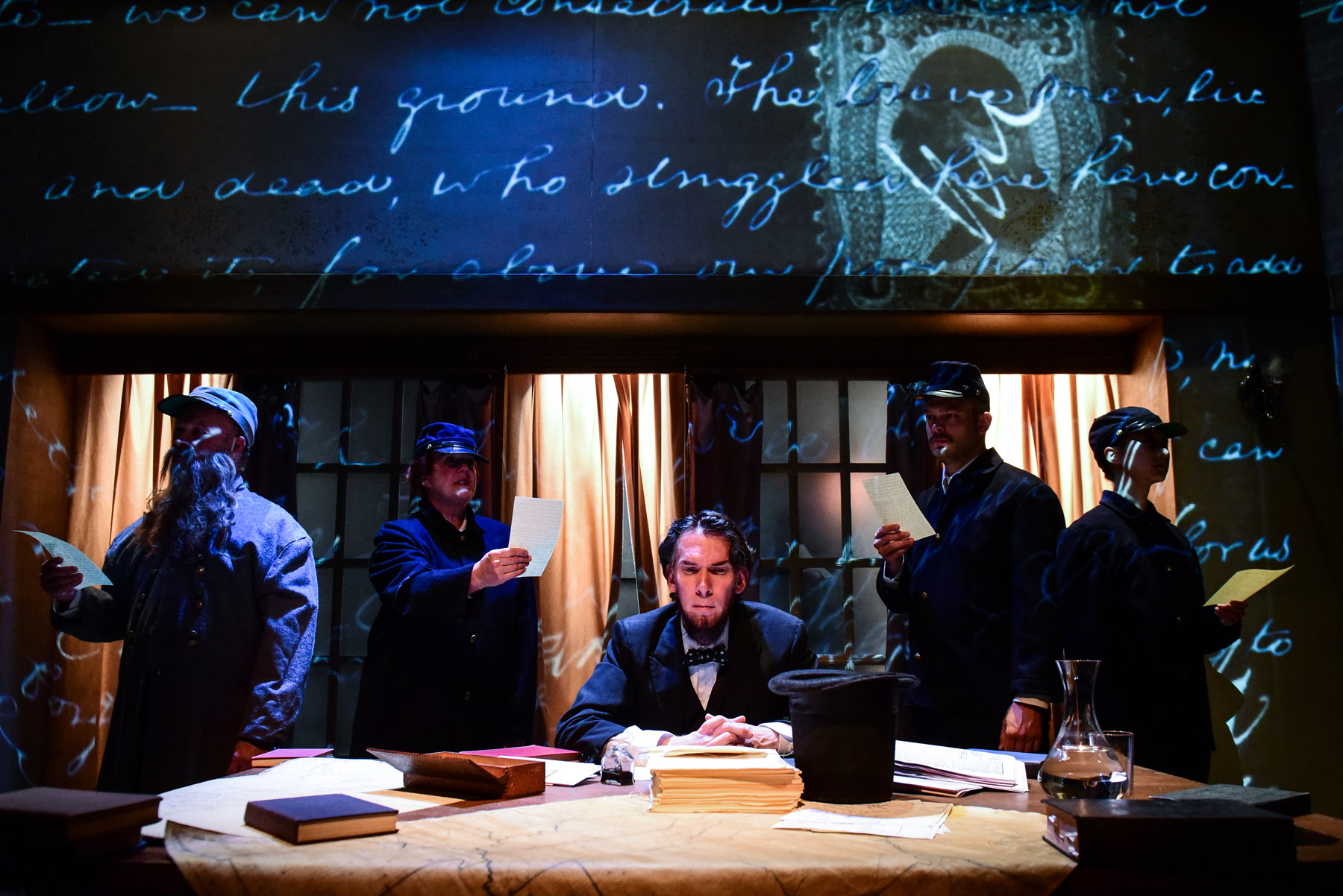 """Review: """"The Heavens Are Hung In Black"""" (Shattered Globe Theatre)"""