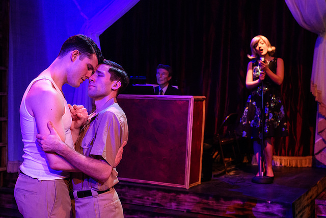 """Review: """"Yank! A World War II Love Story"""" (Pride Film and Plays)"""
