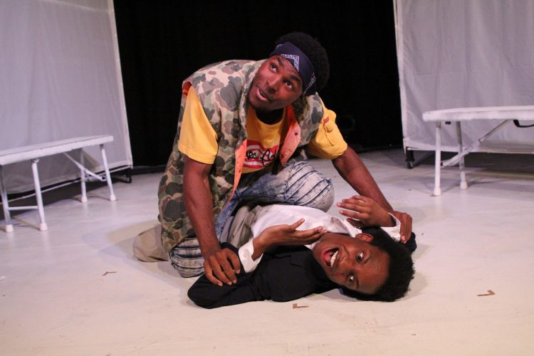 "Review: ""Hooded, Or Being Black for Dummies"" (First Floor Theater)"